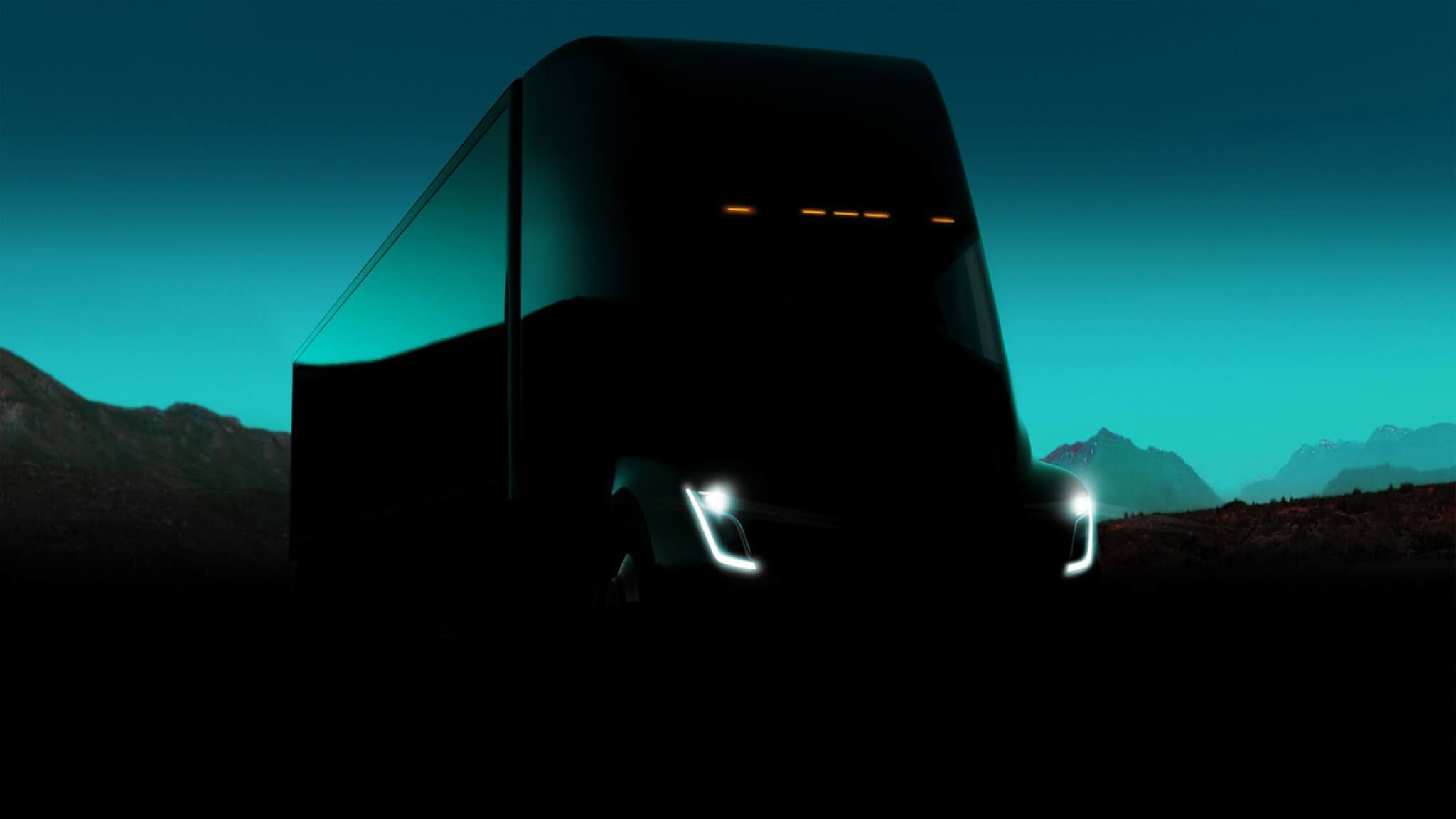 The Tesla Electric Semi Smart Chassis